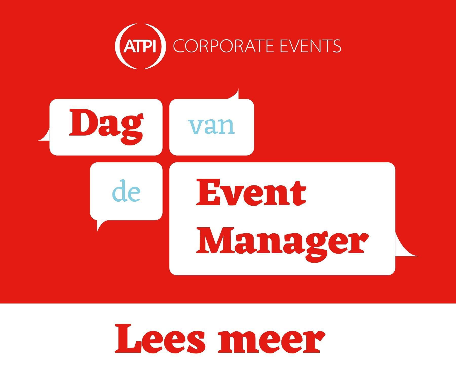 Dag van de Event Manager - Cadeaupagina